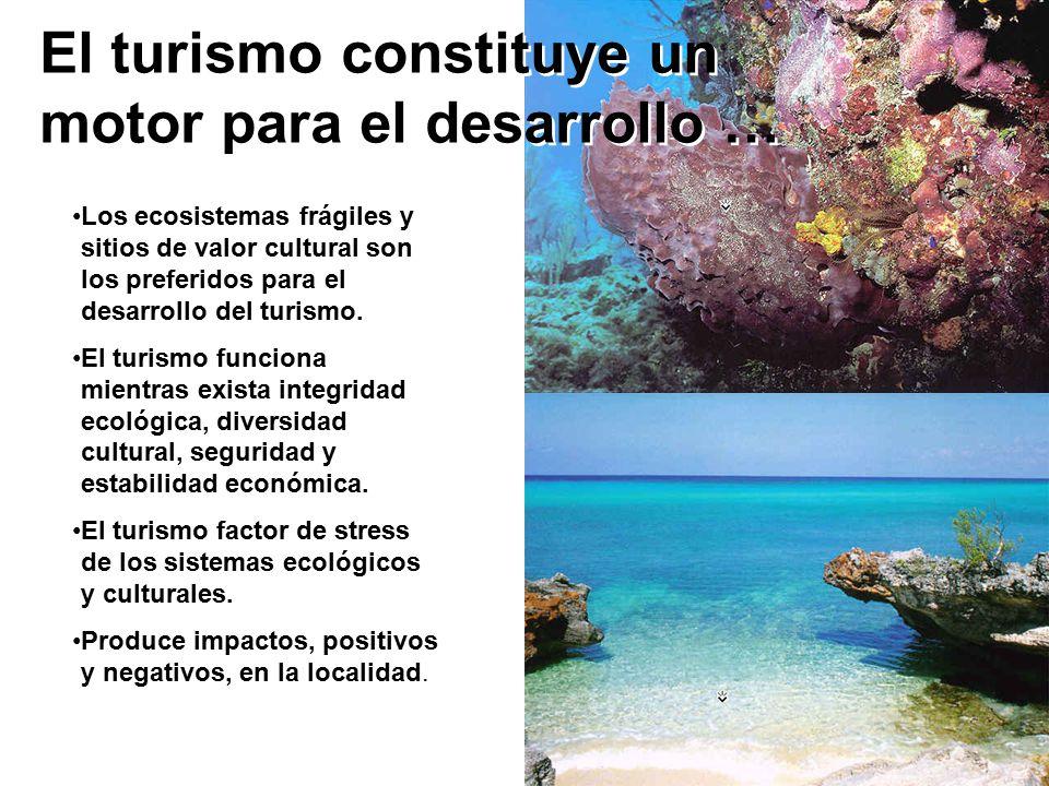 El turismo constituye un motor para el desarrollo …
