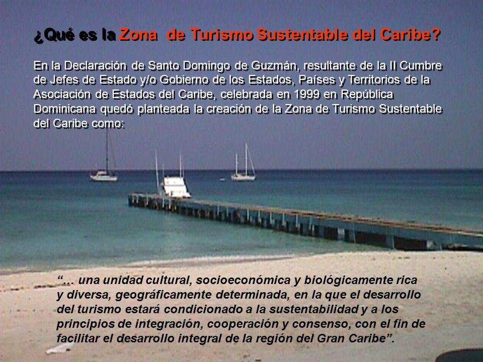 ¿Qué es la Zona de Turismo Sustentable del Caribe