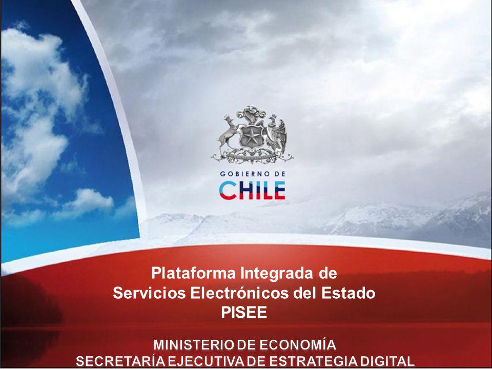 Plataforma Integrada de Servicios Electrónicos del Estado PISEE