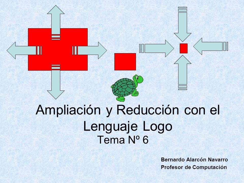 Ampliación y Reducción con el Lenguaje Logo
