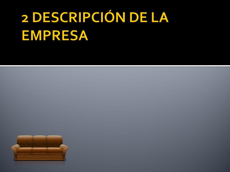 2 DESCRIPCIÓN DE LA EMPRESA