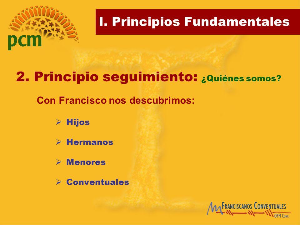 2. Principio seguimiento: ¿Quiénes somos