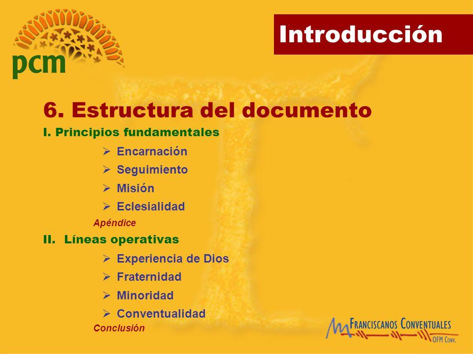 6. Estructura del documento