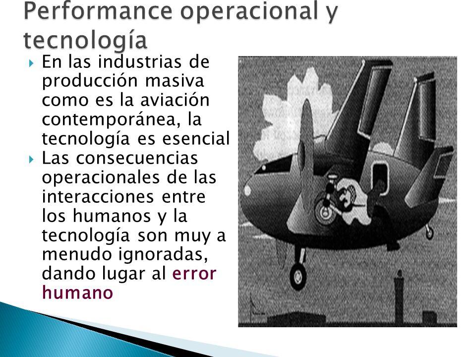 Performance operacional y tecnología