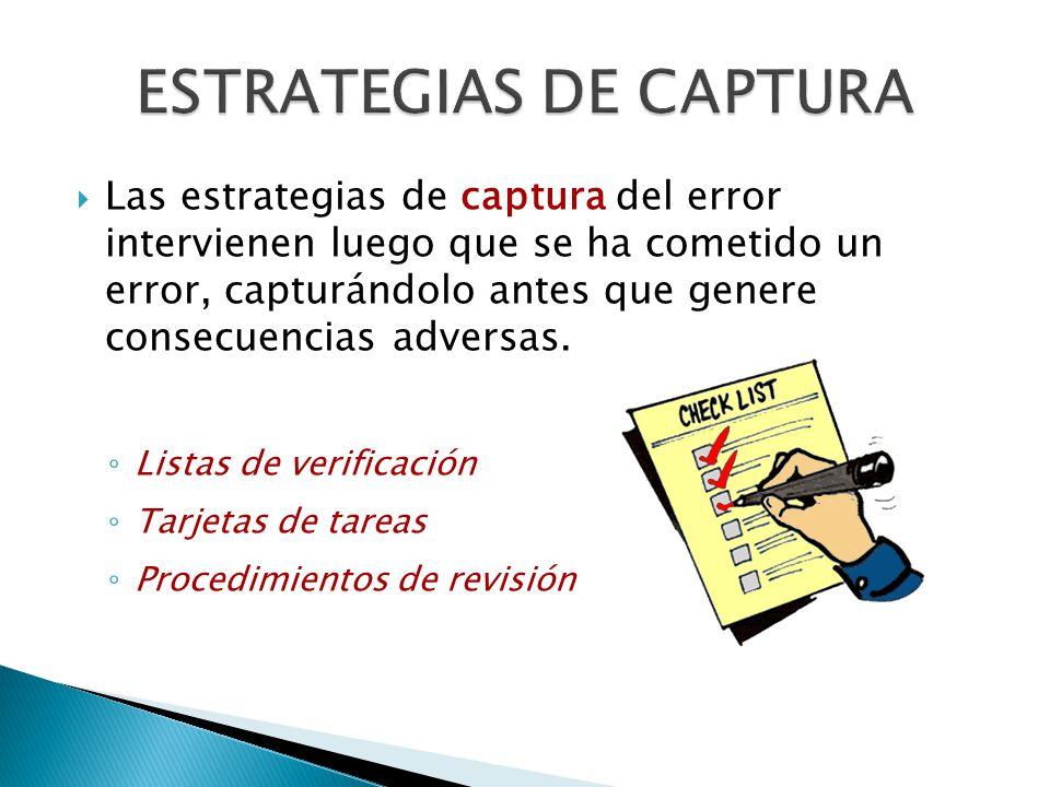 ESTRATEGIAS DE CAPTURA