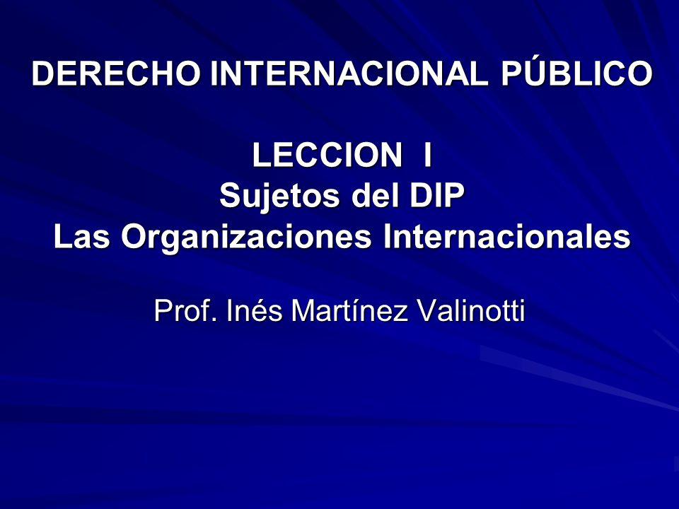 Prof. Inés Martínez Valinotti