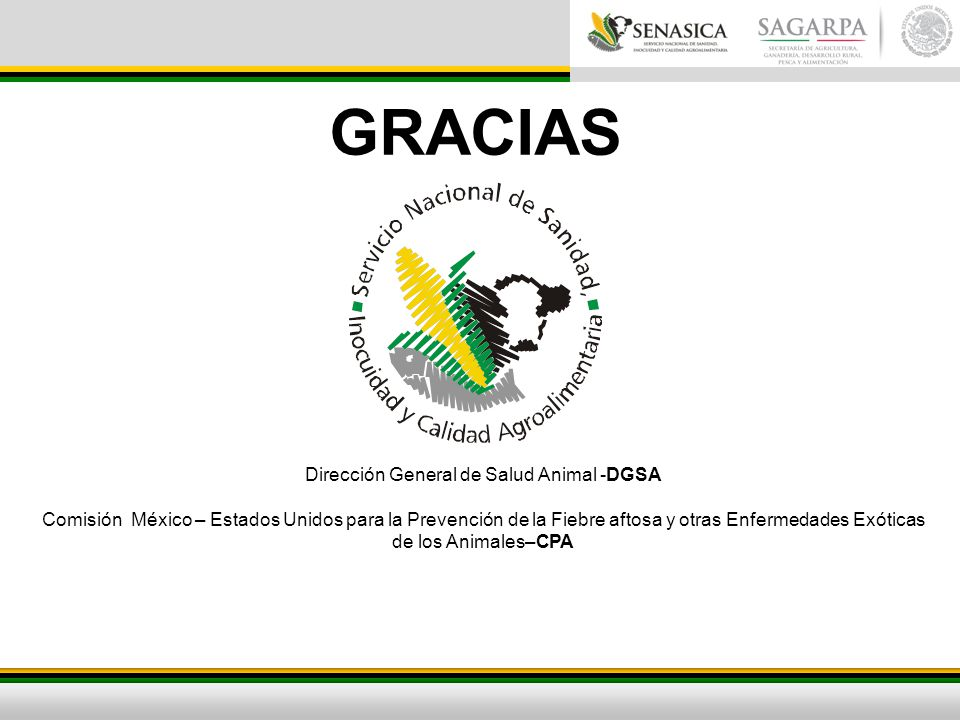 Dirección General de Salud Animal -DGSA