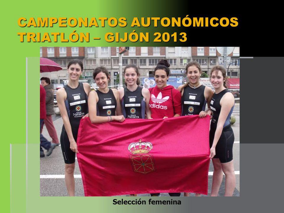 CAMPEONATOS AUTONÓMICOS TRIATLÓN – GIJÓN 2013