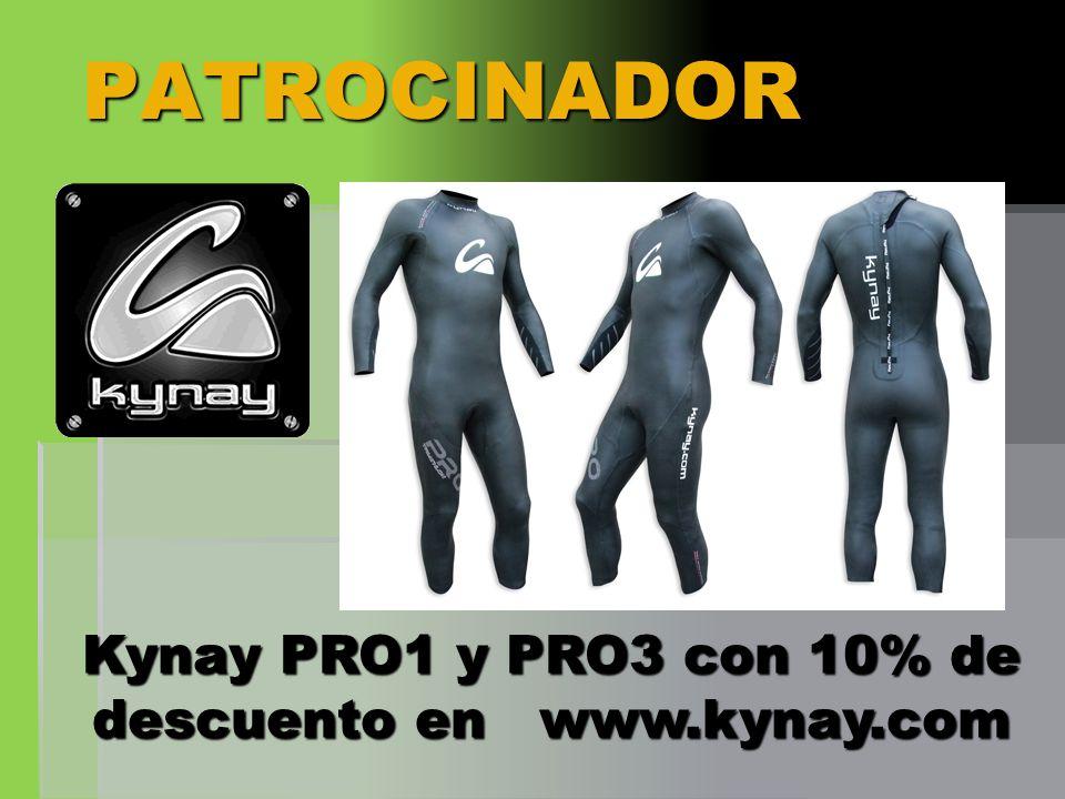 Kynay PRO1 y PRO3 con 10% de descuento en www.kynay.com