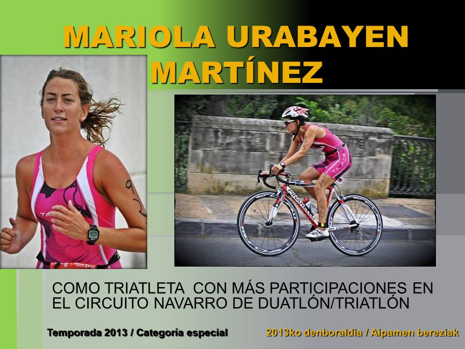 MARIOLA URABAYEN MARTÍNEZ