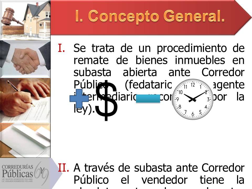 I. Concepto General.