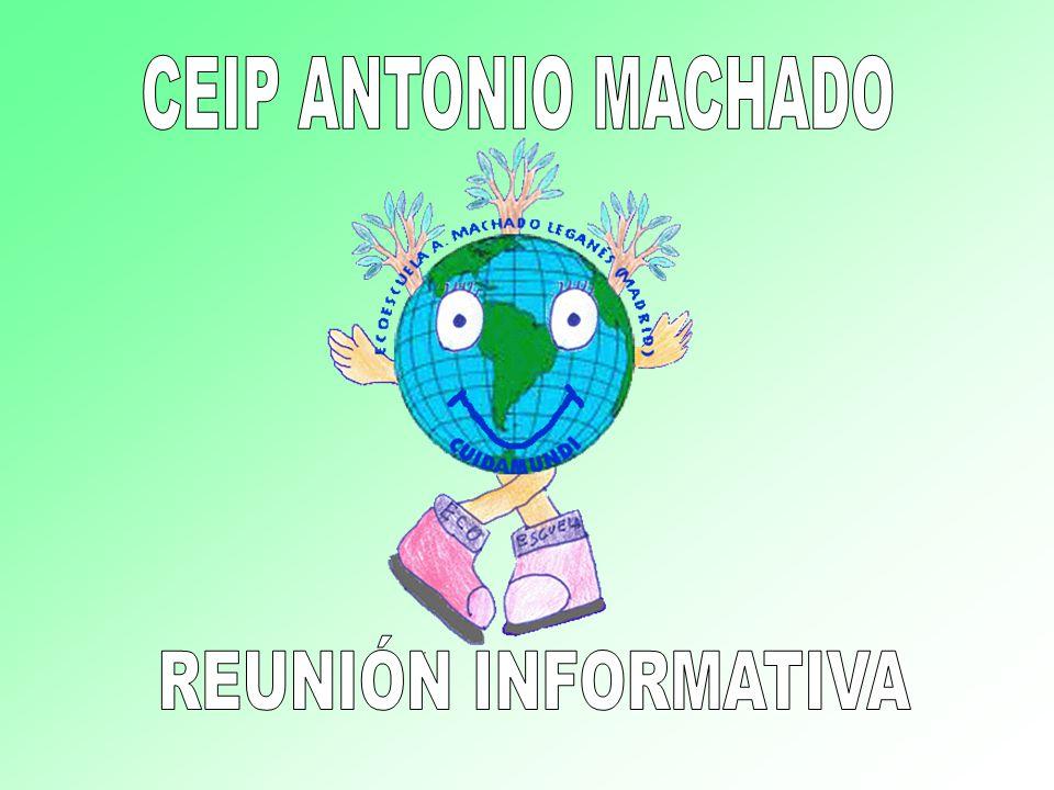CEIP ANTONIO MACHADO REUNIÓN INFORMATIVA