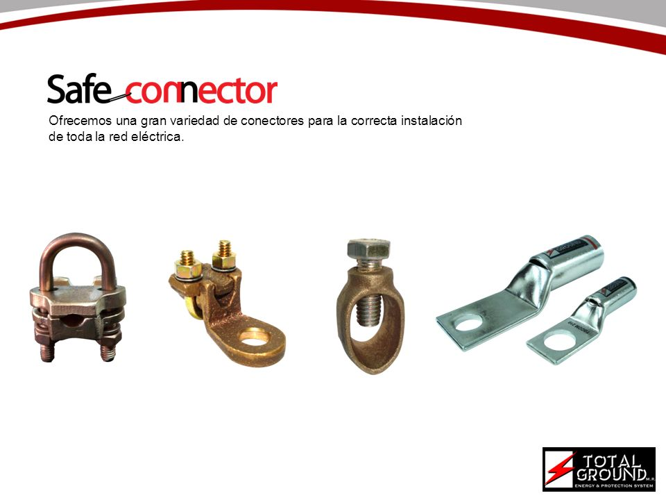 Ofrecemos una gran variedad de conectores para la correcta instalación de toda la red eléctrica.