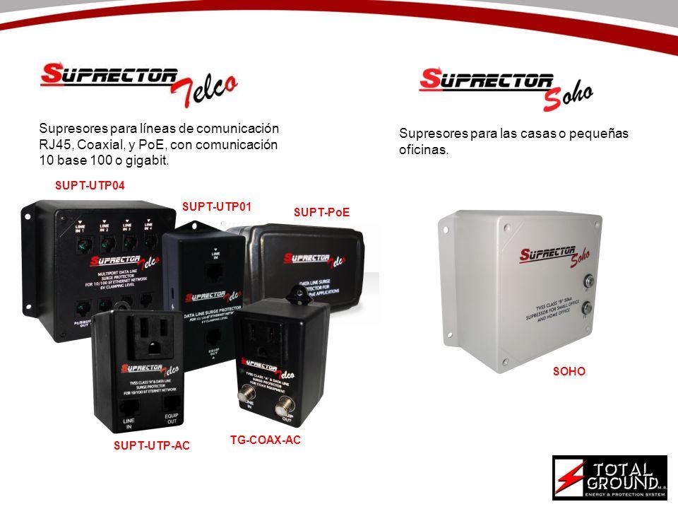 Supresores para las casas o pequeñas oficinas.