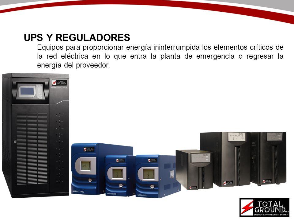 UPS Y REGULADORES