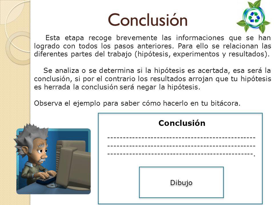 Conclusión Conclusión