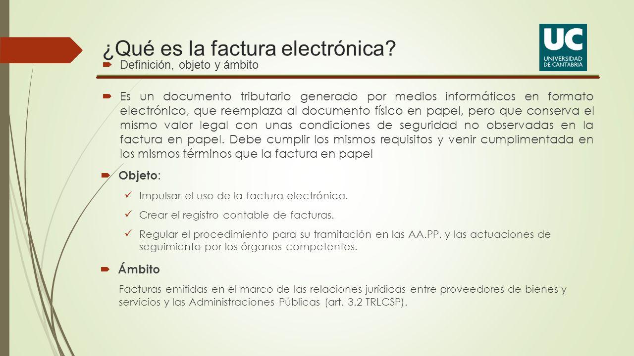 ¿Qué es la factura electrónica