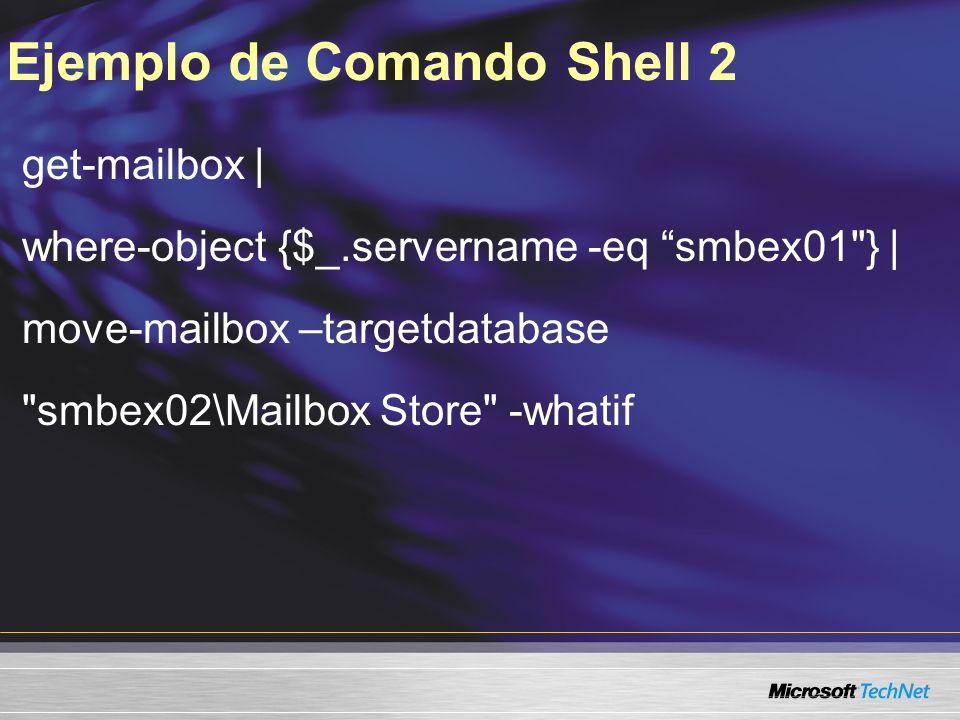 Ejemplo de Comando Shell 2