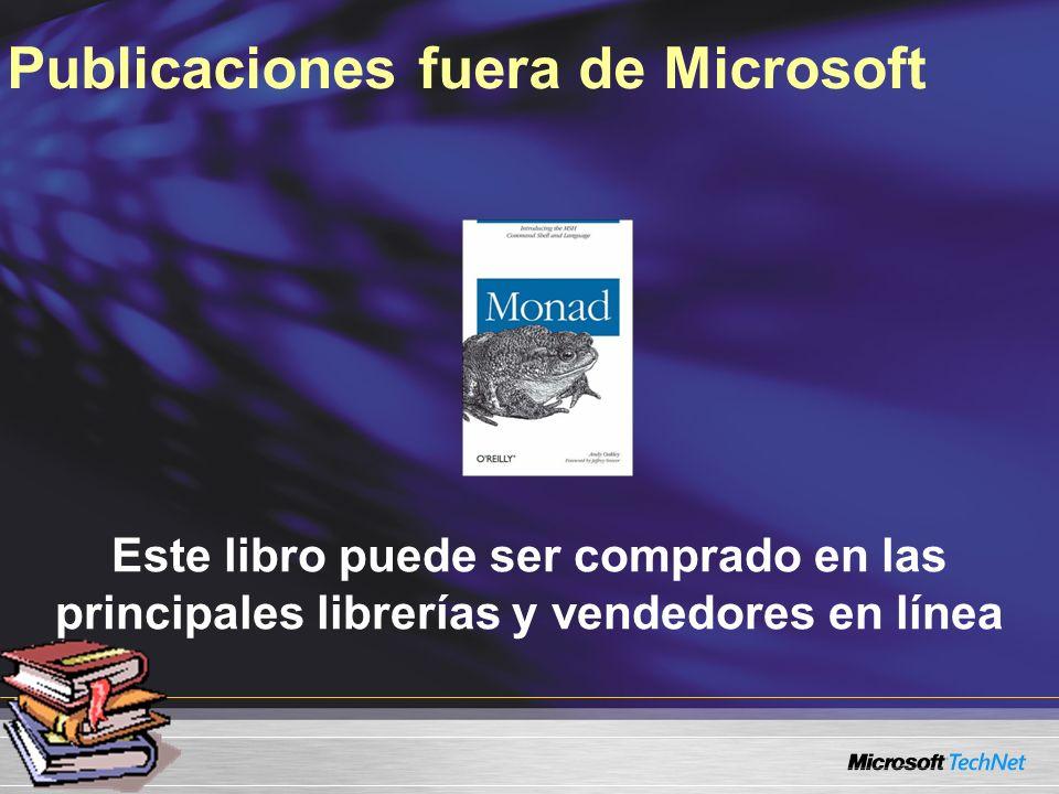 Publicaciones fuera de Microsoft