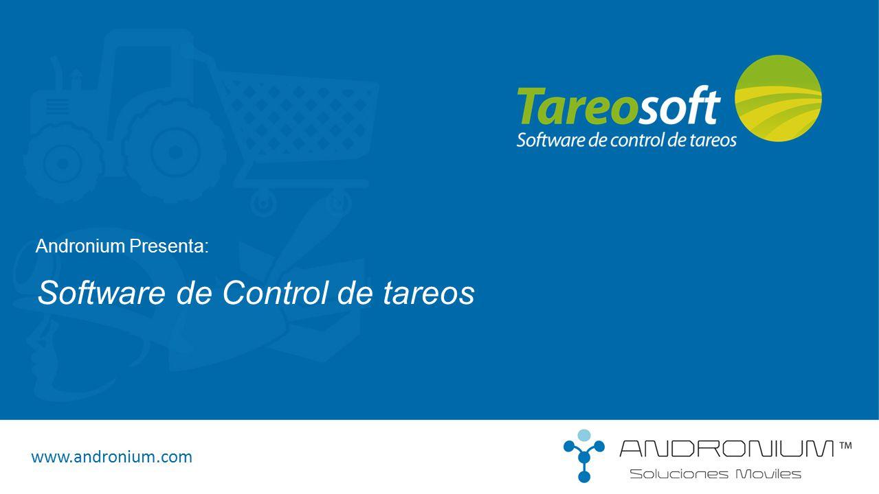 Software de Control de tareos