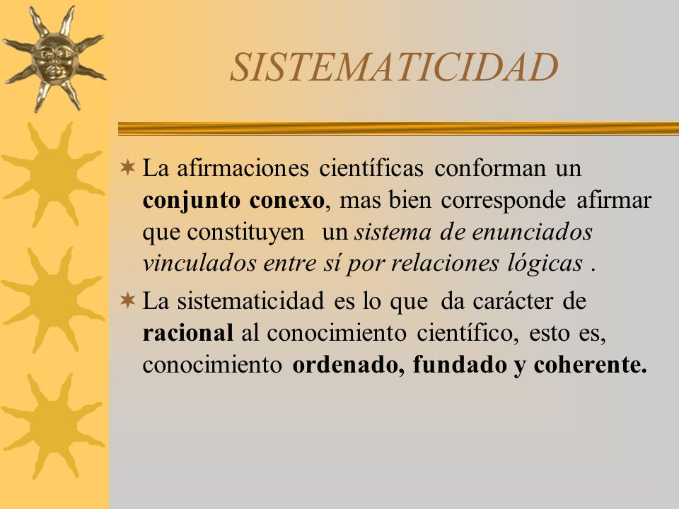 SISTEMATICIDAD