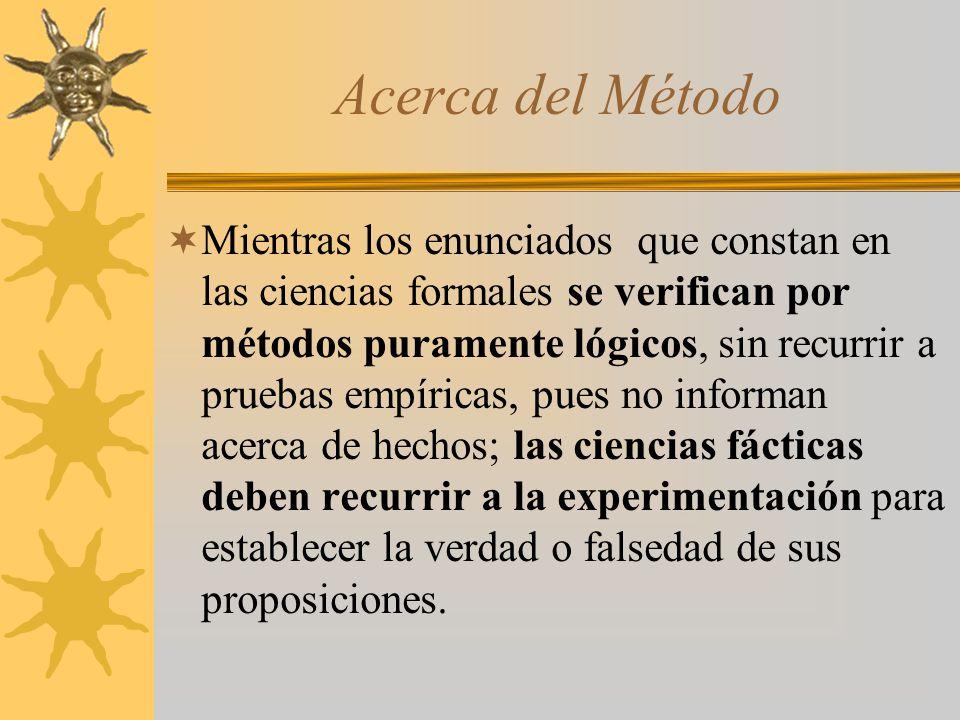 Acerca del Método