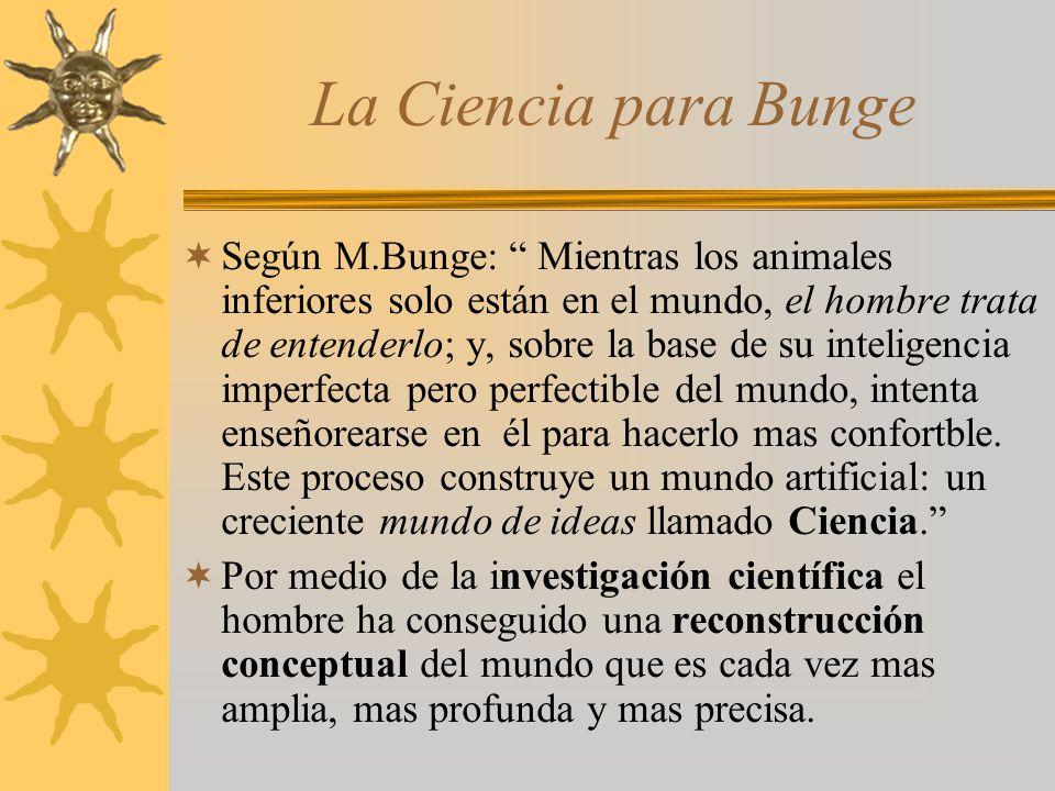 La Ciencia para Bunge