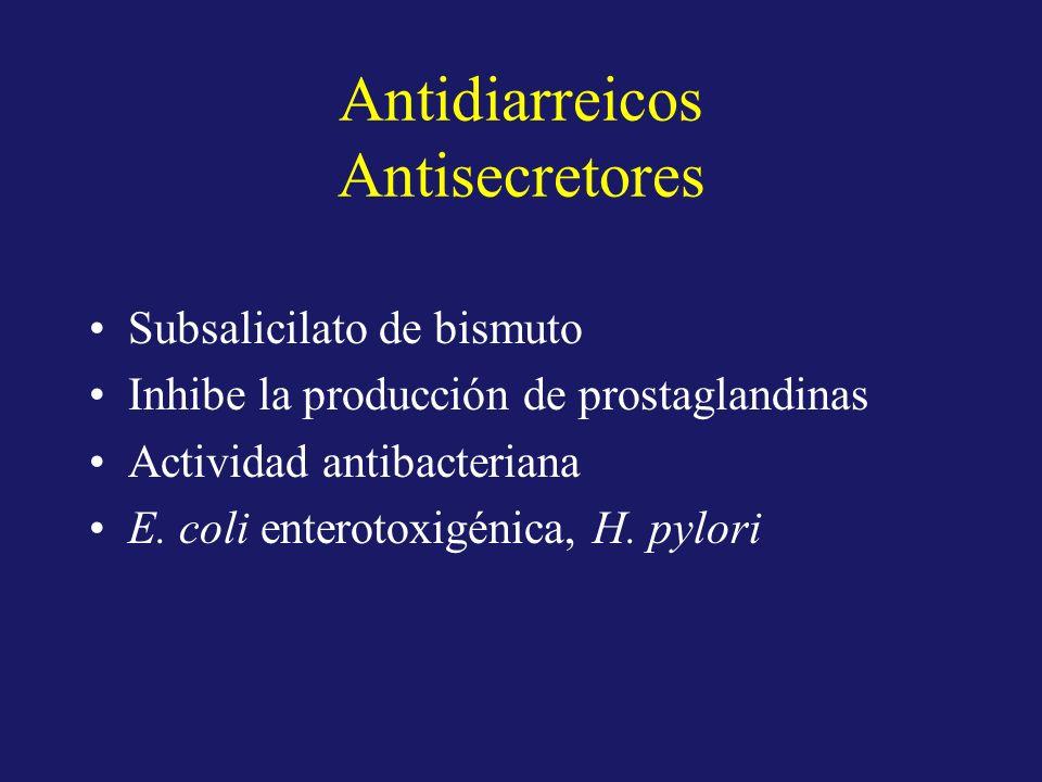Antidiarreicos Antisecretores