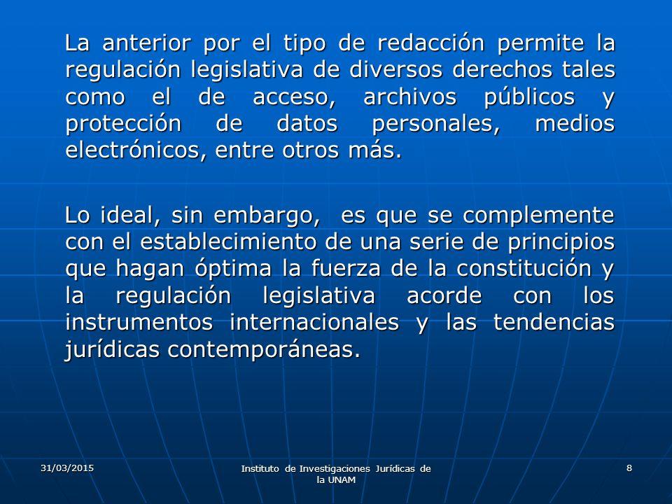 Instituto de Investigaciones Jurídicas de la UNAM