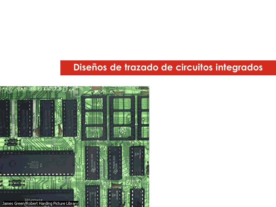 Diseños de trazado de circuitos integrados