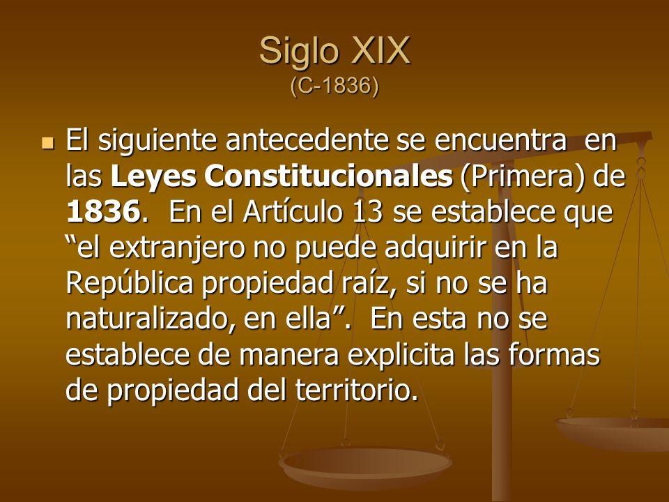 Siglo XIX (C-1836)
