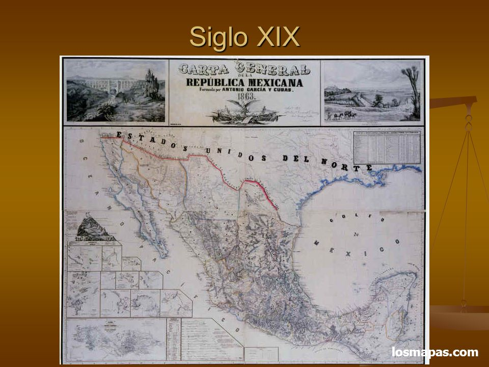 Siglo XIX (C-1857) losmapas.com