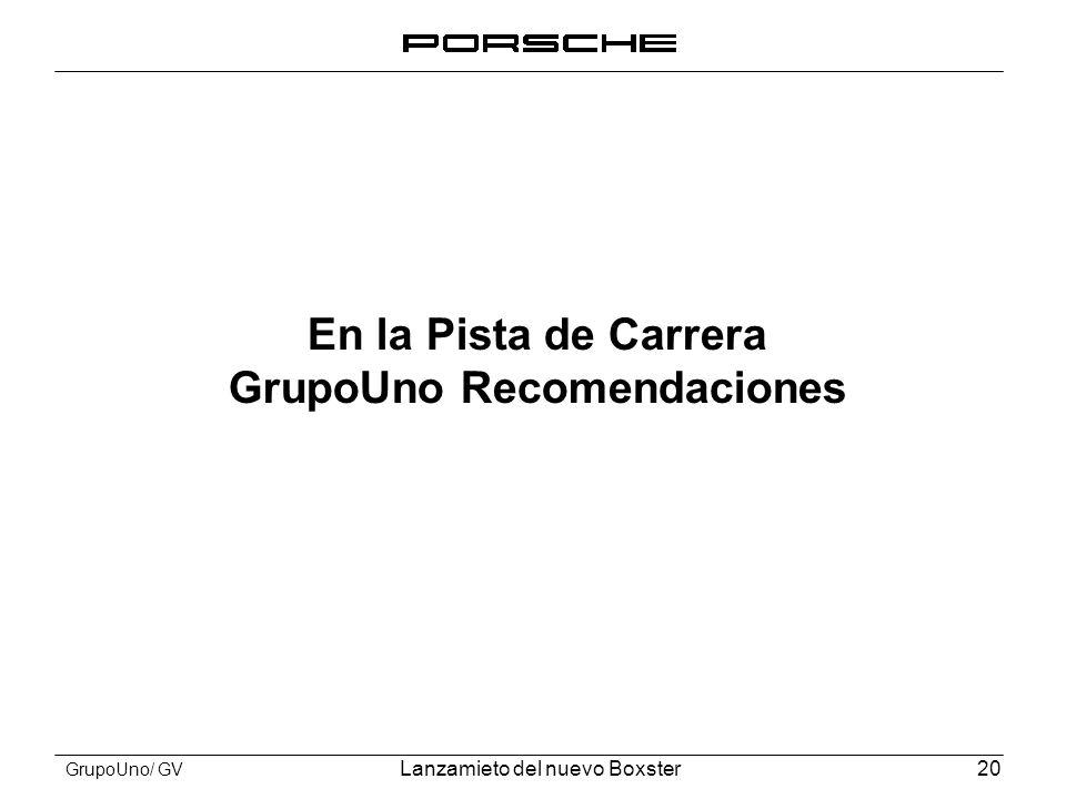 GrupoUno Recomendaciones