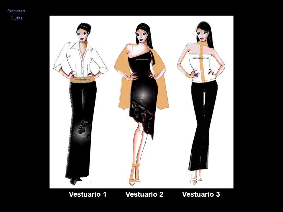 Vestuario 1 Vestuario 2 Vestuario 3