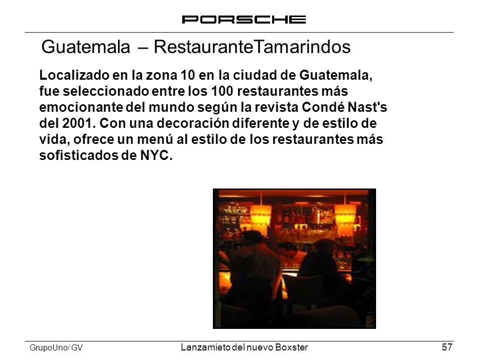 Guatemala – RestauranteTamarindos