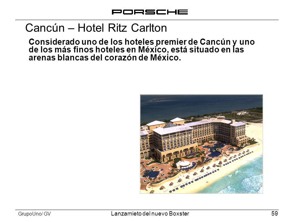 Cancún – Hotel Ritz Carlton