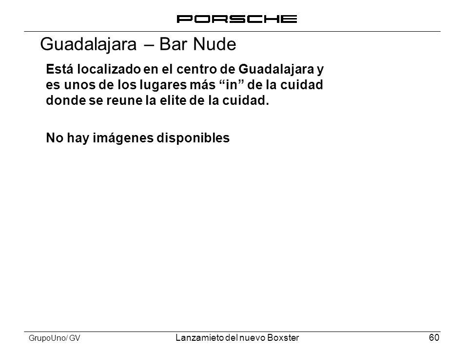 Guadalajara – Bar Nude