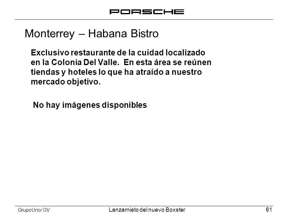 Monterrey – Habana Bistro