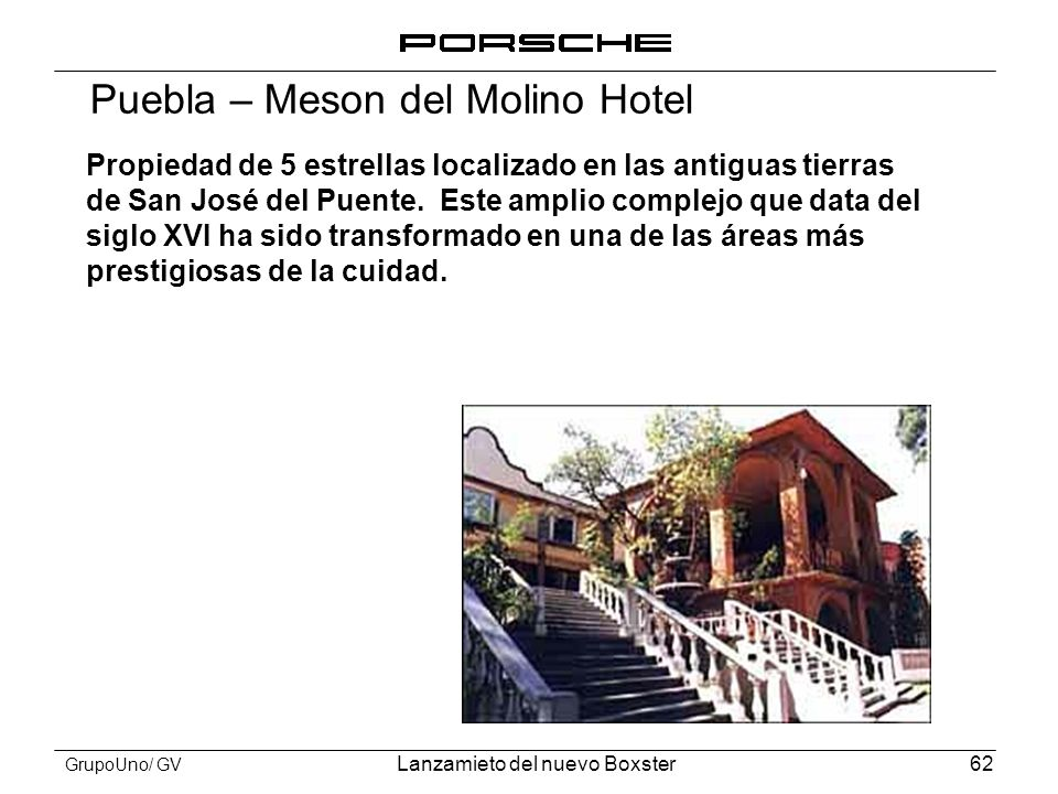 Puebla – Meson del Molino Hotel