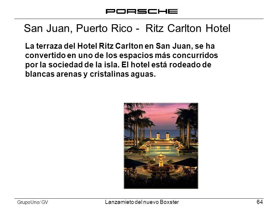 San Juan, Puerto Rico - Ritz Carlton Hotel