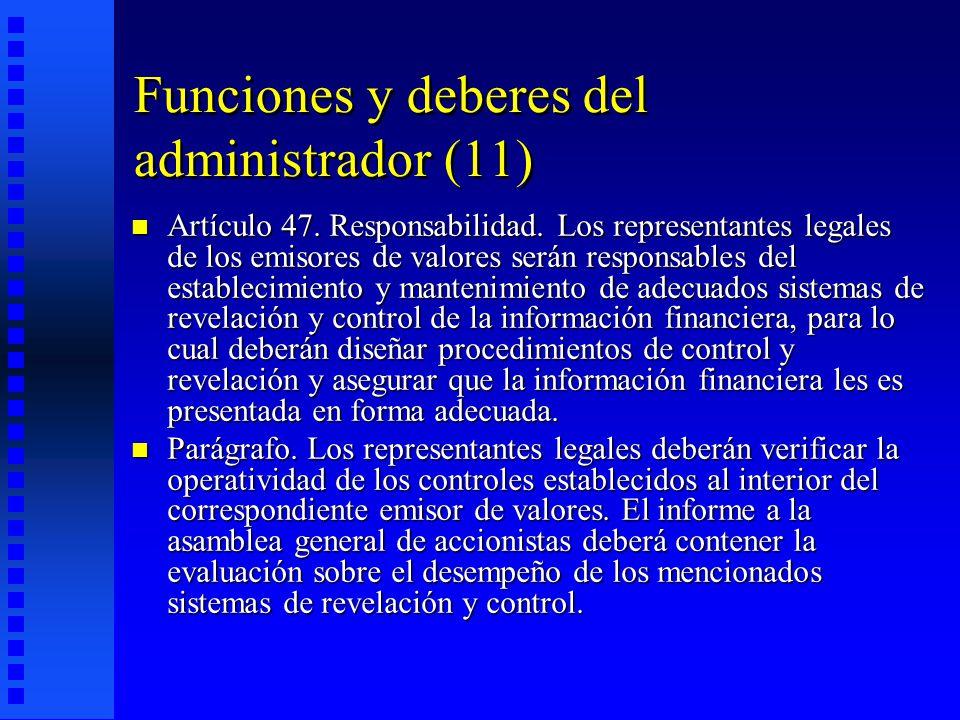 Funciones y deberes del administrador (11)