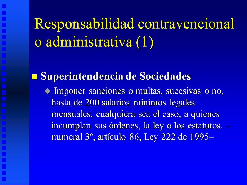 Responsabilidad contravencional o administrativa (1)