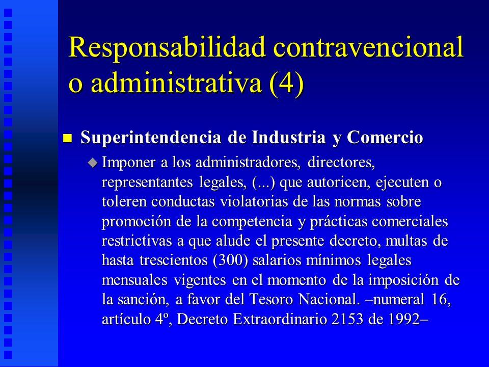 Responsabilidad contravencional o administrativa (4)