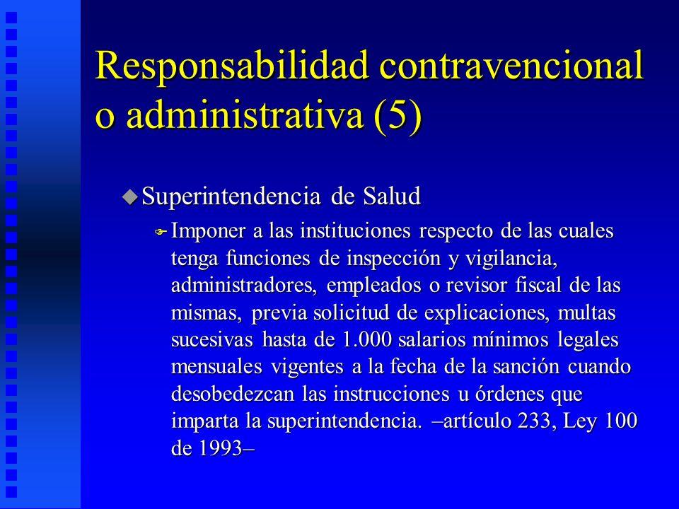 Responsabilidad contravencional o administrativa (5)