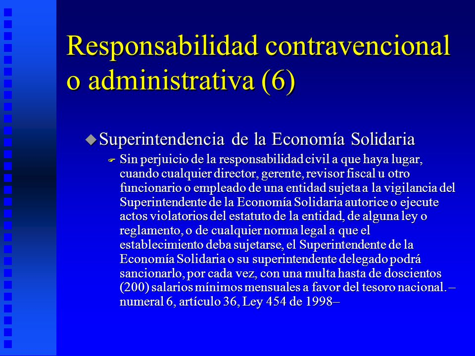 Responsabilidad contravencional o administrativa (6)