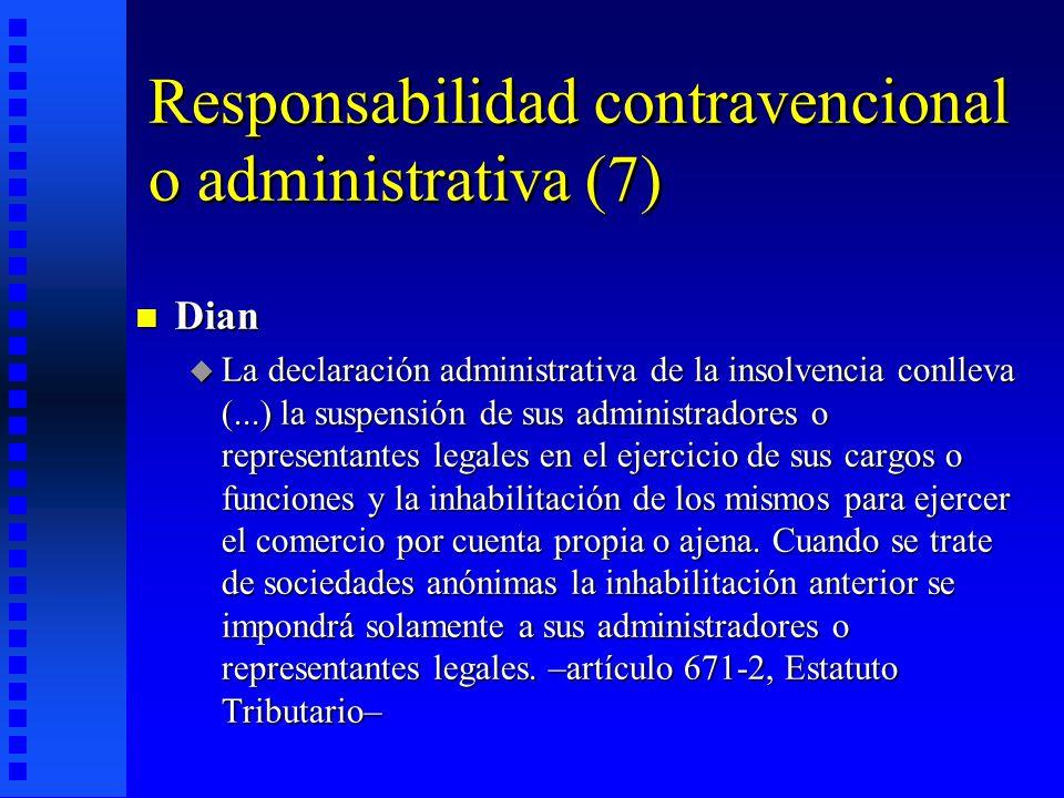 Responsabilidad contravencional o administrativa (7)