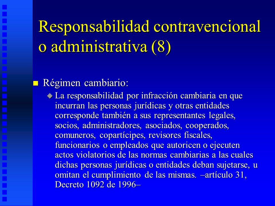 Responsabilidad contravencional o administrativa (8)
