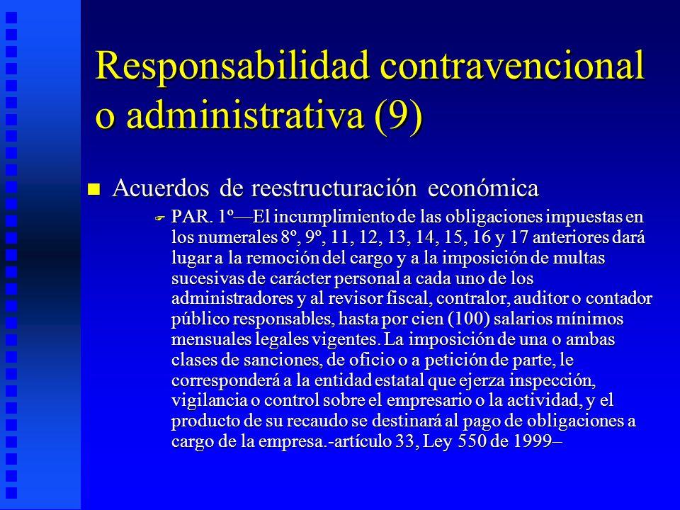 Responsabilidad contravencional o administrativa (9)