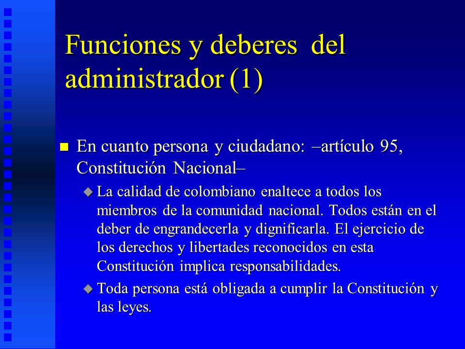 Funciones y deberes del administrador (1)