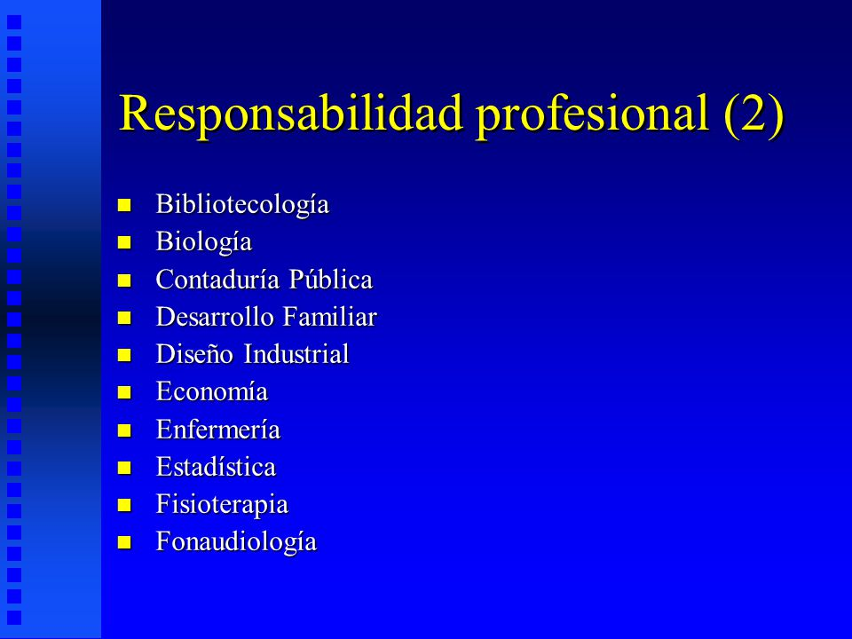 Responsabilidad profesional (2)